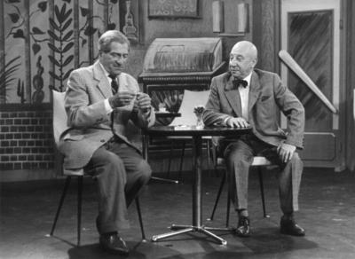 Karl Farkas und Fritz Heller