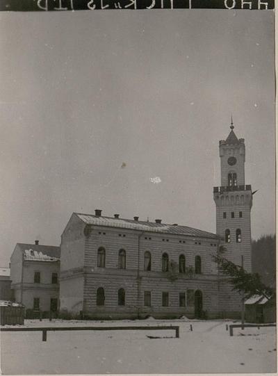 Rathaus in Dorna Watra.