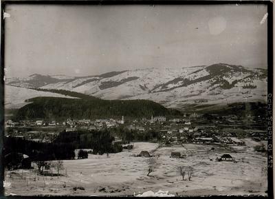 Dorna Watra, Blick auf die Stadt, 1917.