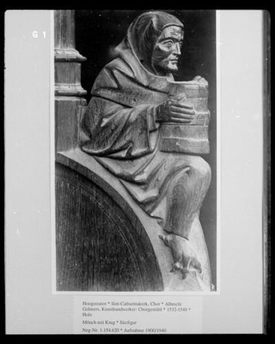 Mönch mit Krug