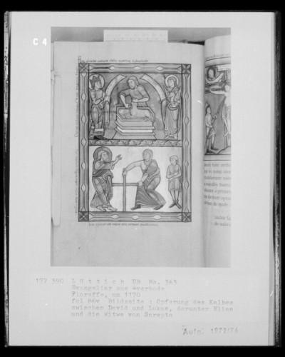 Ms. 363 (Evangeliar aus Averbode) — Ms. 363 (Evangeliar aus Averbode), Folio 86versoBuchseite