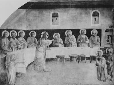 Abendmahl, Kommunion der Apostel