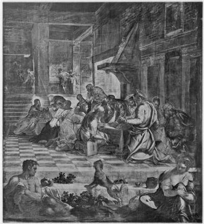 Gemäldezyklus in der Scuola di San Rocco — Abendmahl