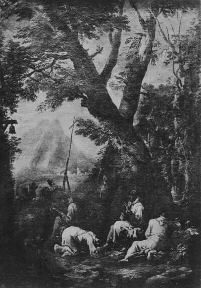 Mönche im Gebet