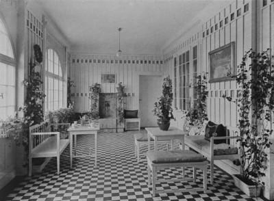 Haus Hermann Muthesius — Wintergarten, Berlin - Zehlendorf (Berlin), Potsdamer Chaussee 49