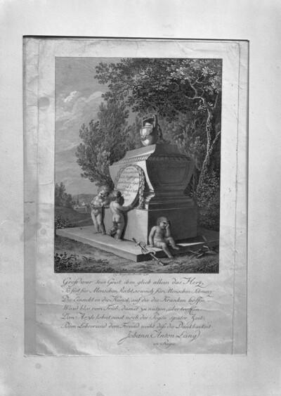 Grabmal des Arztes Johann Conrad Stoffregen (1742-1790)
