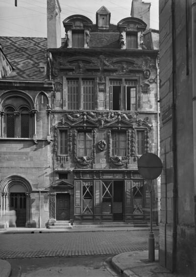 Maison Milsand, Dijon, Rue des Forges 38