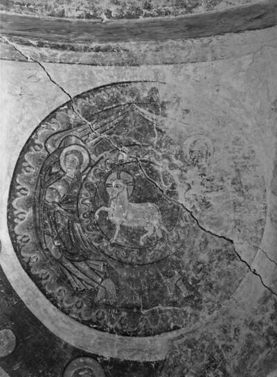 Detail: Medaillon mit Lamm Gottes
