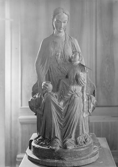Thronende Muttergottes / sogenannte Aachener Madonna