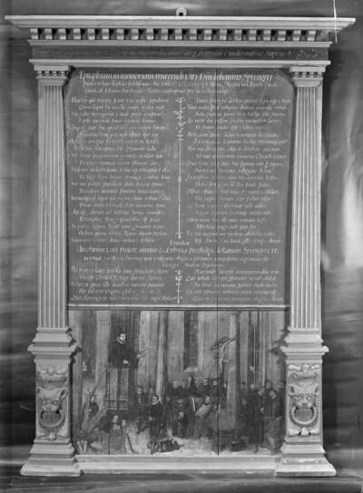 Epitaph des Johannes Sprenger
