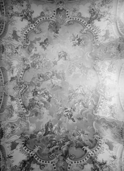 Maria als Königin der Engel, der Heiligen und Propheten