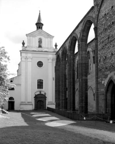 Kloster Sasau — Ehemalige Klosterkirche Sankt Maria — Klosterkirche