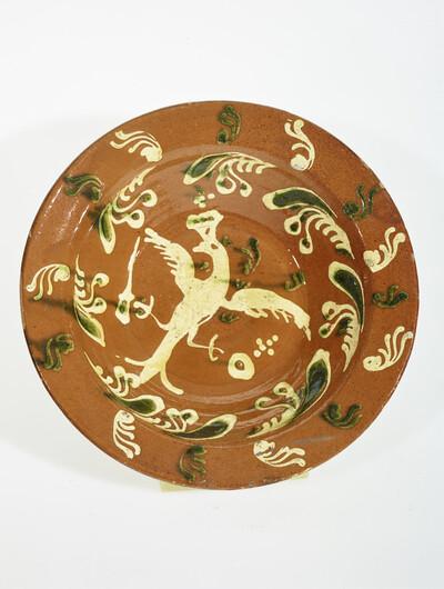 Teller (sogenannte Ochtrupper Keramik)
