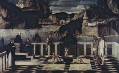 Heilige Allegorie / Allegoria delle Anime del Purgatorio