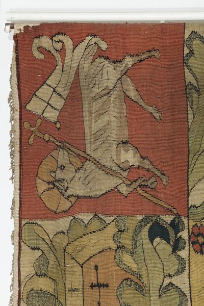 Wandteppich mit dem Gleichnis vom verlorenen Sohn — Christussymbol, Lamm Gottes
