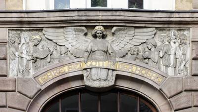 Engel mit Mädchenchor