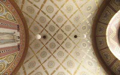 Gewölbemosaik der Fürstenzelle