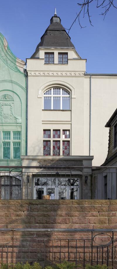 Versammlungs- und Festsaalgebäude Volkspark, Halle (Saale), Burgstraße 27