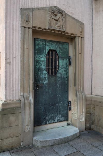 Katholische Stadtpfarrkirche & Neue katholische Kirche Sankt Georg — Portal, Hockenheim