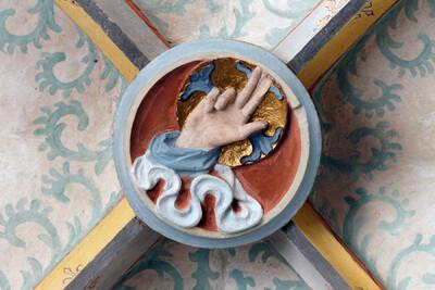 Hand Gottes