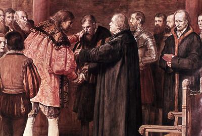 Versöhnung der Grafen von Mansfeld