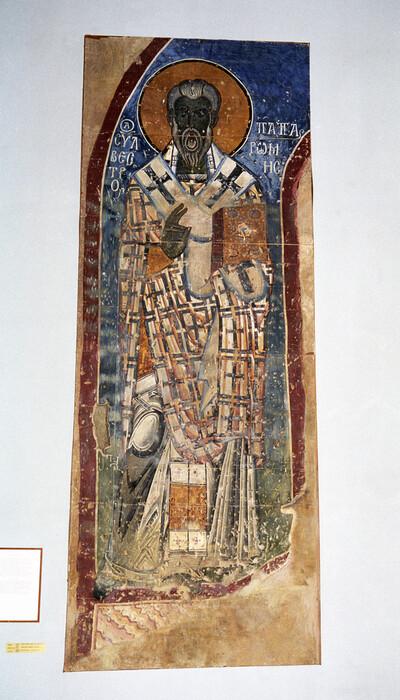 Gemälde aus Achtala: Papst Clemens