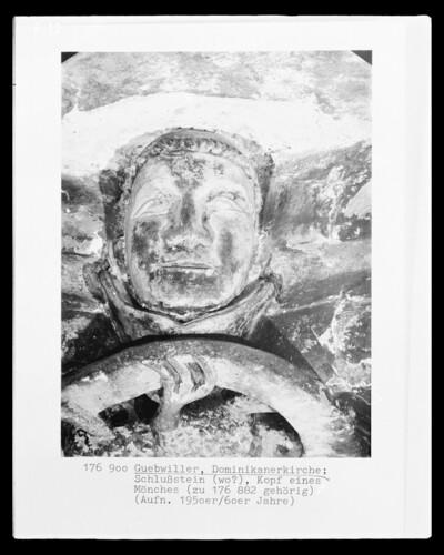 Kopf eines Mönches