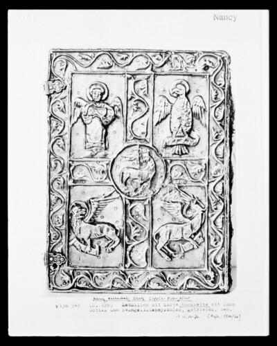 Buchdeckel des Gozelin-Evangeliars: Rückseite