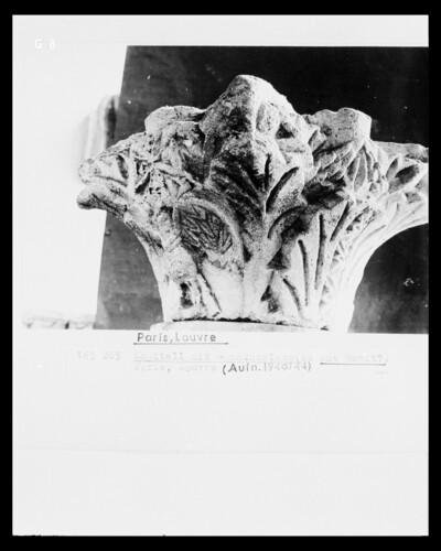 Kapitell mit Akanthusdekor (aus Bauît?)