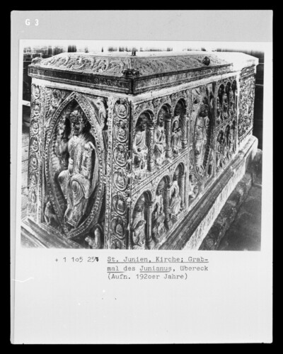 Grabmal des heiligen Junien