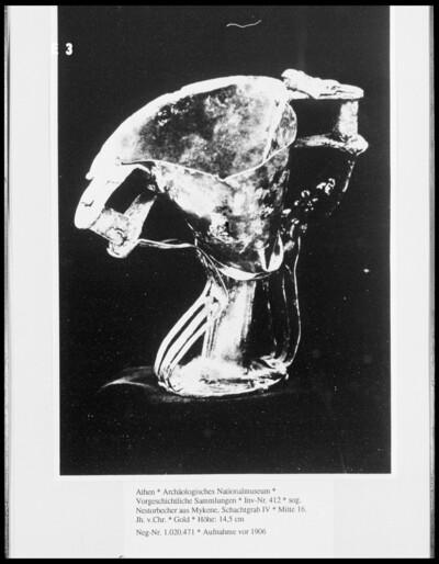 sog. Nestorbecher aus Mykene, Schachtgrab IV