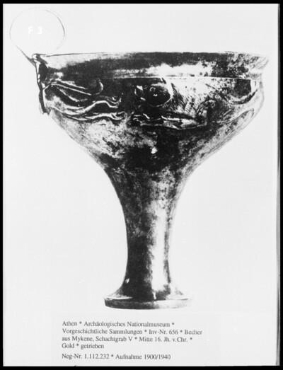 Becher aus Mykene, Schachtgrab V