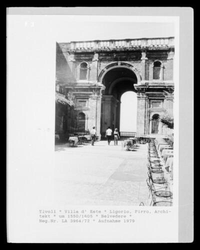 Belvedere, Tivoli, Villa d'Este
