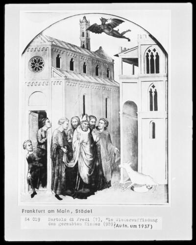 Sieben Szenen der Stephanus-Legende — Die Wiederauffindung des geraubten Kindes
