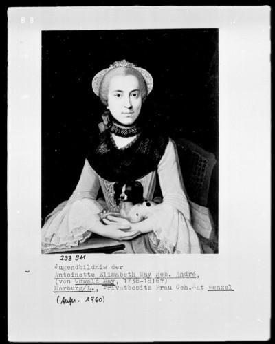 Bildnis Antoinette Elisabeth May