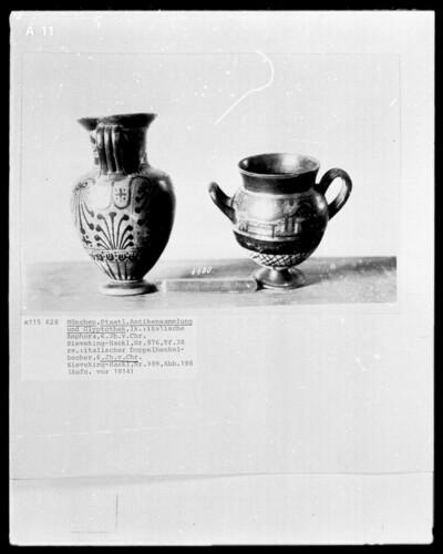 italisch-ionische Amphora, italisch-ionischer Doppelhenkelbecher