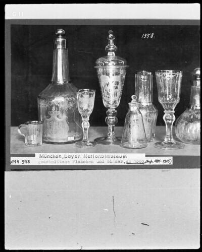 Trinkglas Flasche