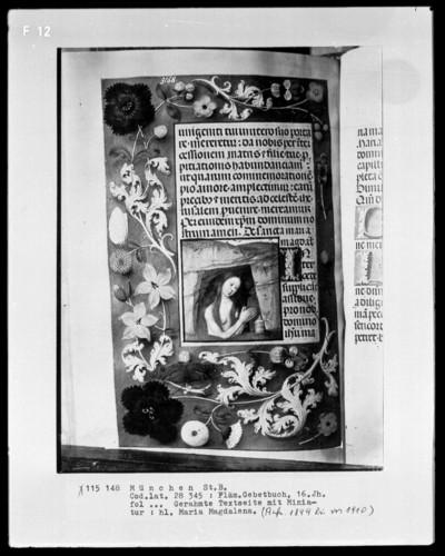 Flämisches Gebetbuch — Die heilige Maria Magdalena