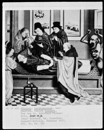 Der Tod des heiligen Nikolaus