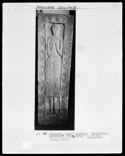 Grabstein für Bernhard von Borghorst