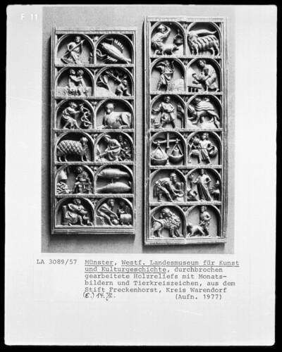 Monatsbilder und Tierkreiszeichen