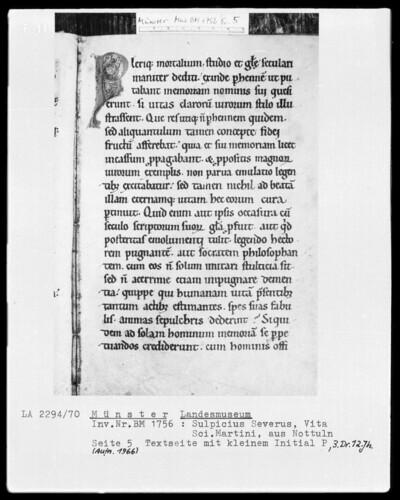 Textseite mit kleinem Initial P (Seite 5)