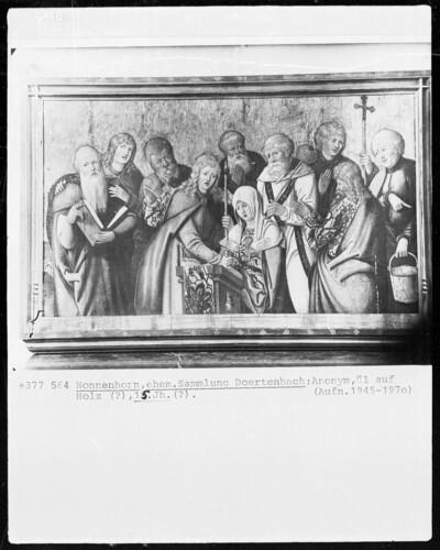 Maria mit Aposteln