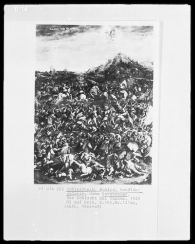 Historienbilder Herzog Wilhelms 4. von Bayern — Niederlage der Römer durch die Karthager in der Schlacht bei Cannae