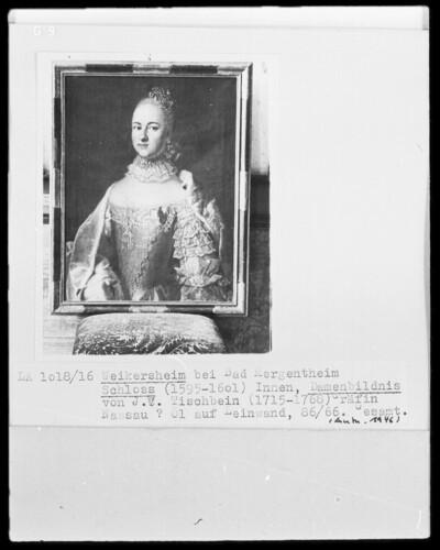 Damenbildnis, Gräfin von Nassau (?)