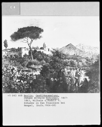 Im Garten des Klosters San Francesco bei Neapel