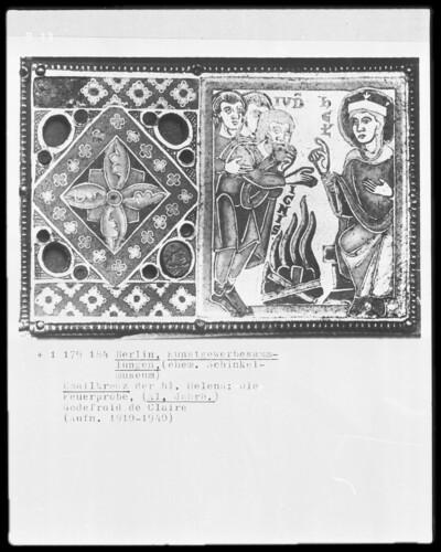 Emailkreuz der Heiligen Helena: die Feuerprobe