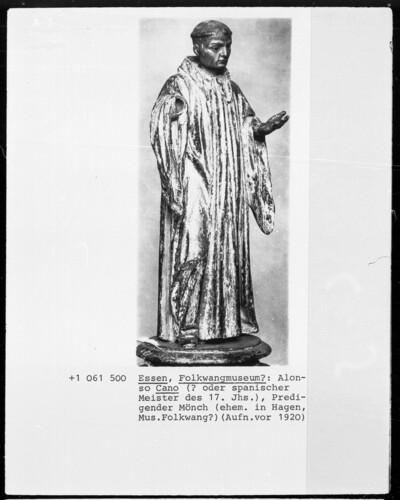 Predigender Mönch