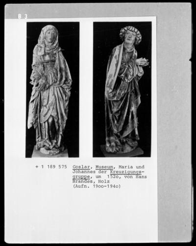 Maria der Kreuzigungsgruppe des Domlettners