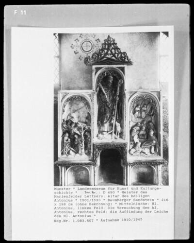 Altar des heiligen Antonius